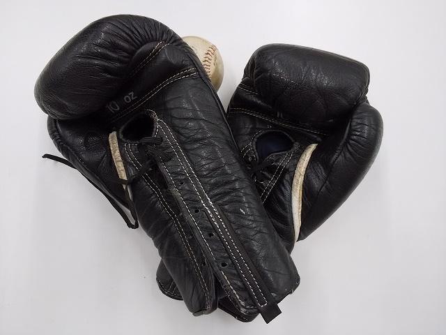 ボクシンググローブ修理